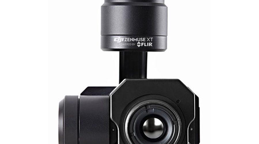 Video Cámara térmica + Gimbal DJI Zenmuse XT Radiométrica 336 6.8mm
