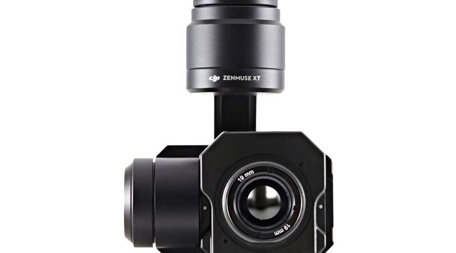 Video Cámara térmica + Gimbal DJI Zenmuse XT Radiométrica 640 7.5mm