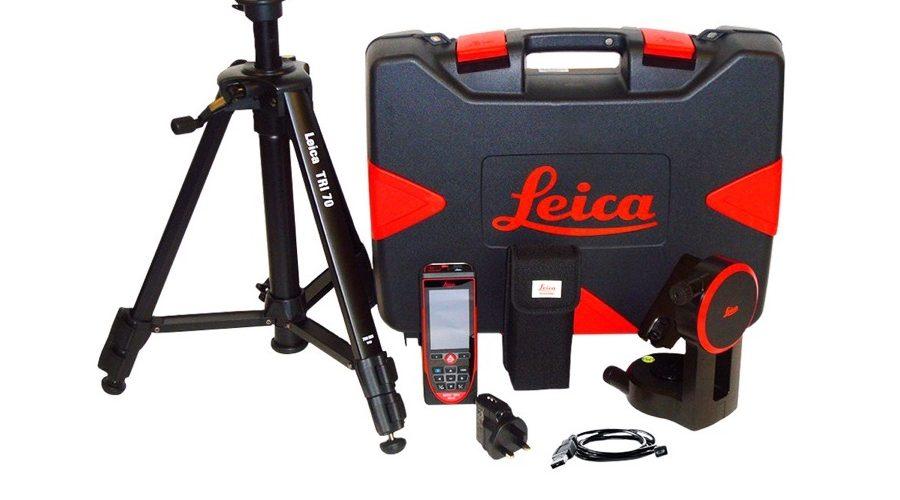 Video Leica DISTO D510 + Adaptador + Trípode