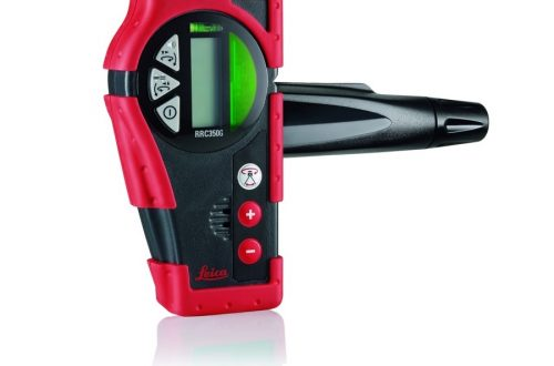 receptor laser roteo rrc350g front