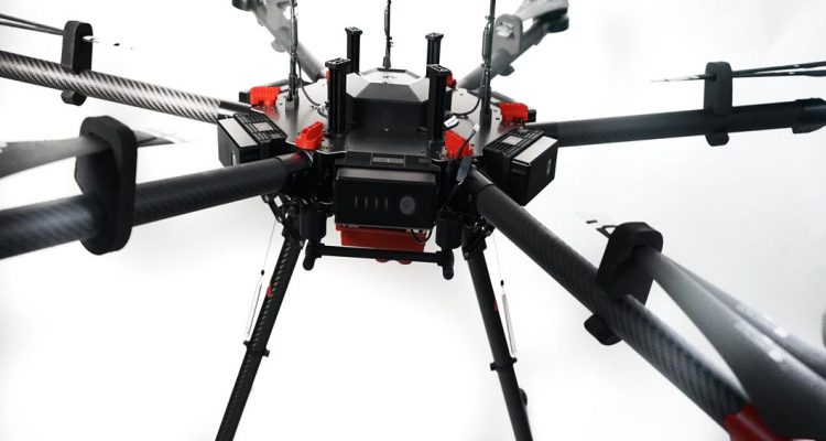 Drones y sensores