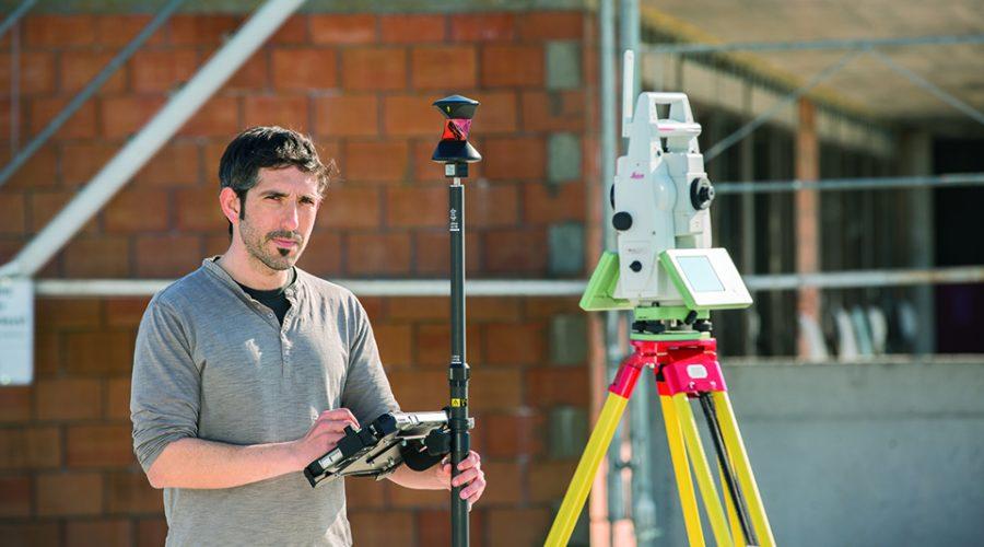 Video Estación Total Leica Viva TS16 con Leica Captivate