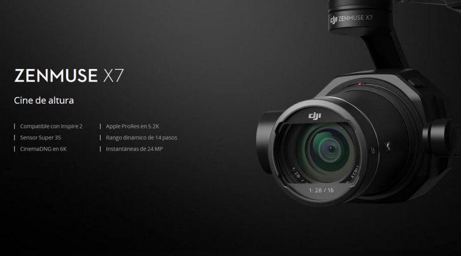 Video DJI Zenmuse X7