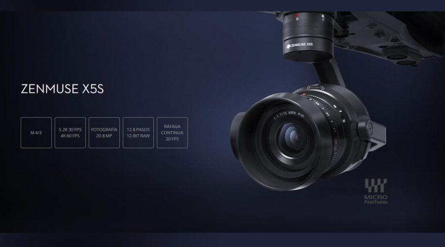 Video DJI Zenmuse X5s