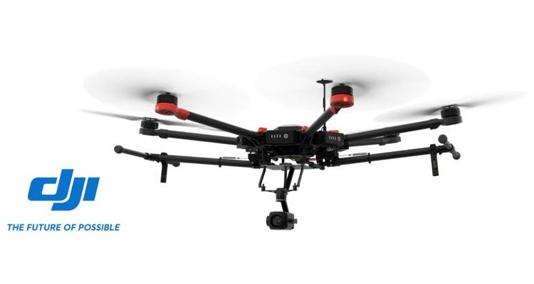 Grupo ACRE distribuye drones DJI
