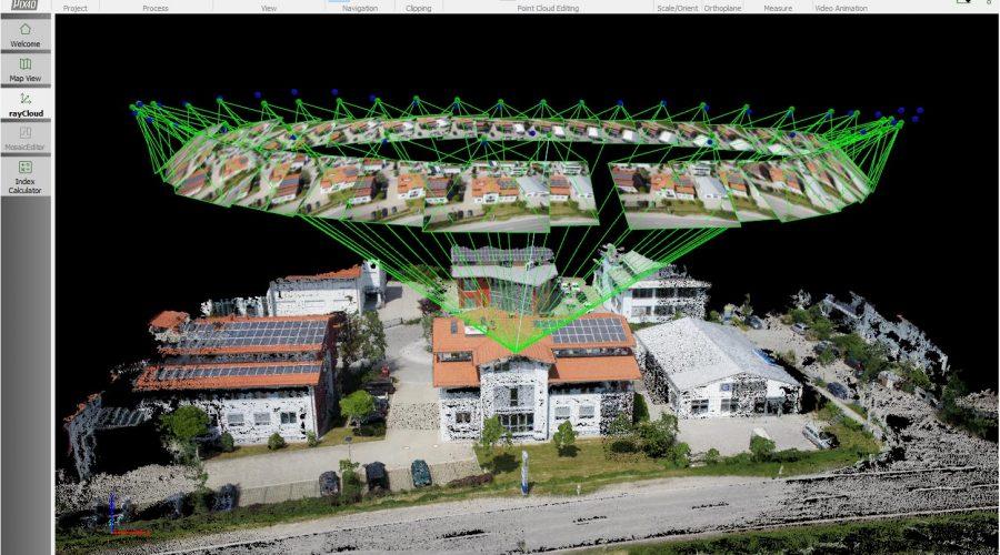 Video Pack de Mapping -2 / topografía con dron DJI Inspire 2, cámara Zenmuse X5S y Pix4D