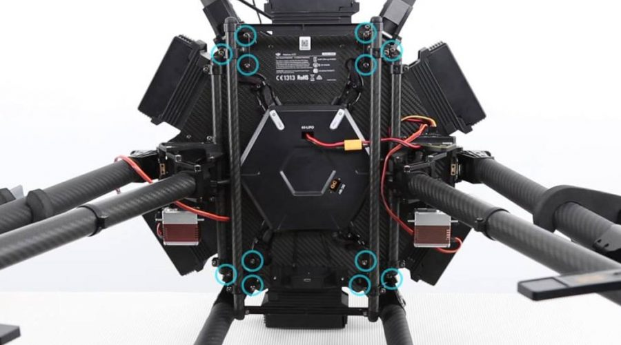 Video Dron DJI Matrice 600