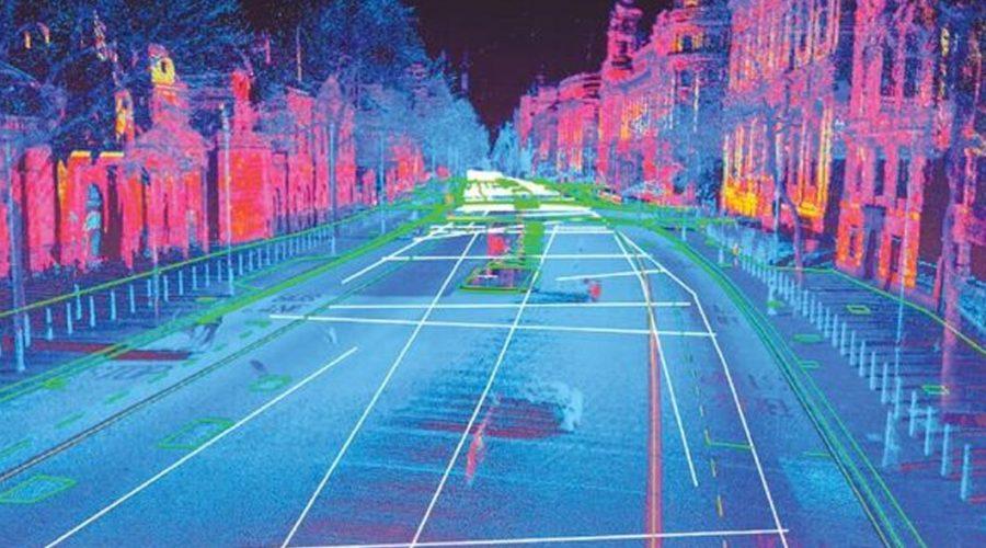 Video Sistema mobile mapping Leica Pegasus Stream