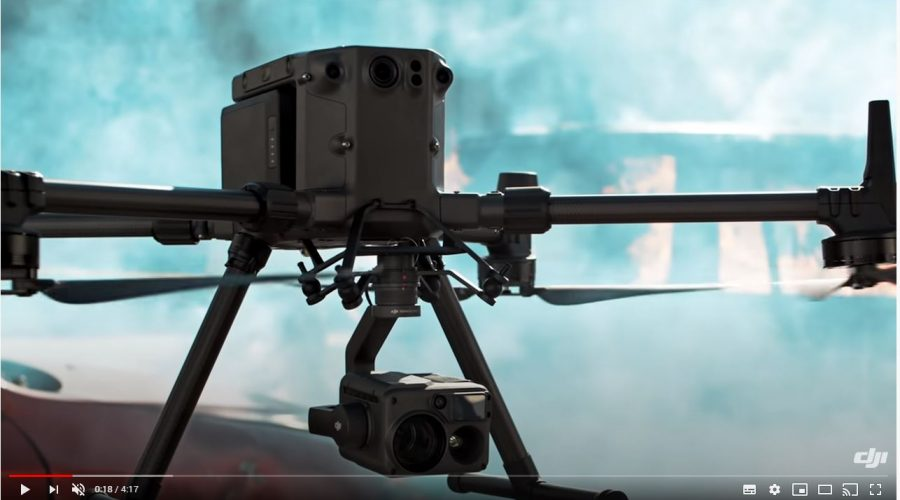 Video Dron DJI Matrice 300 RTK