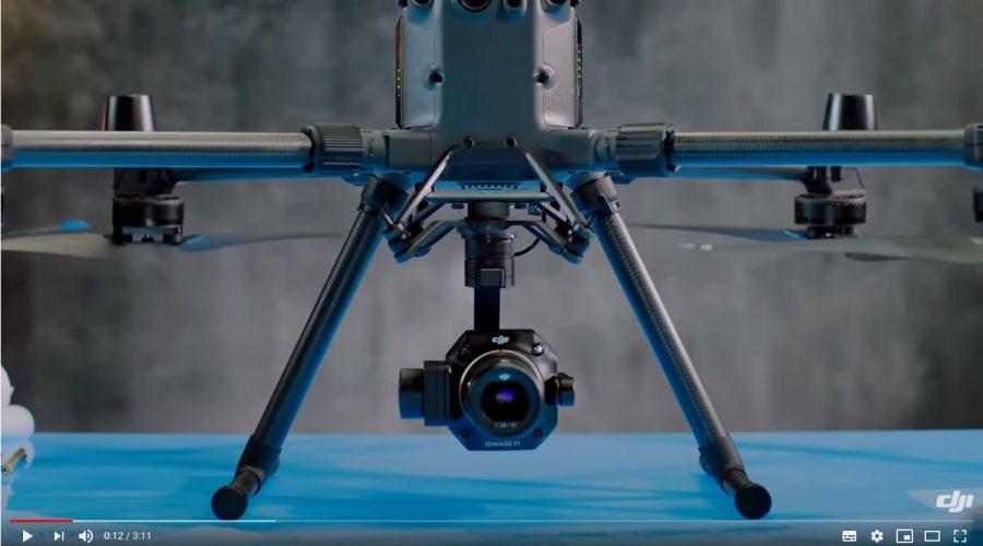 Video Cámara para dron DJI Zenmuse P1 para fotogrametría