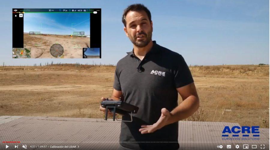 Video LIDAR para dron DJI Zenmuse L1